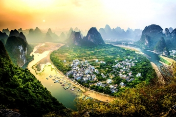 Tour China Guilin Best Deal Chines New Year - 5D3N By Batik Air